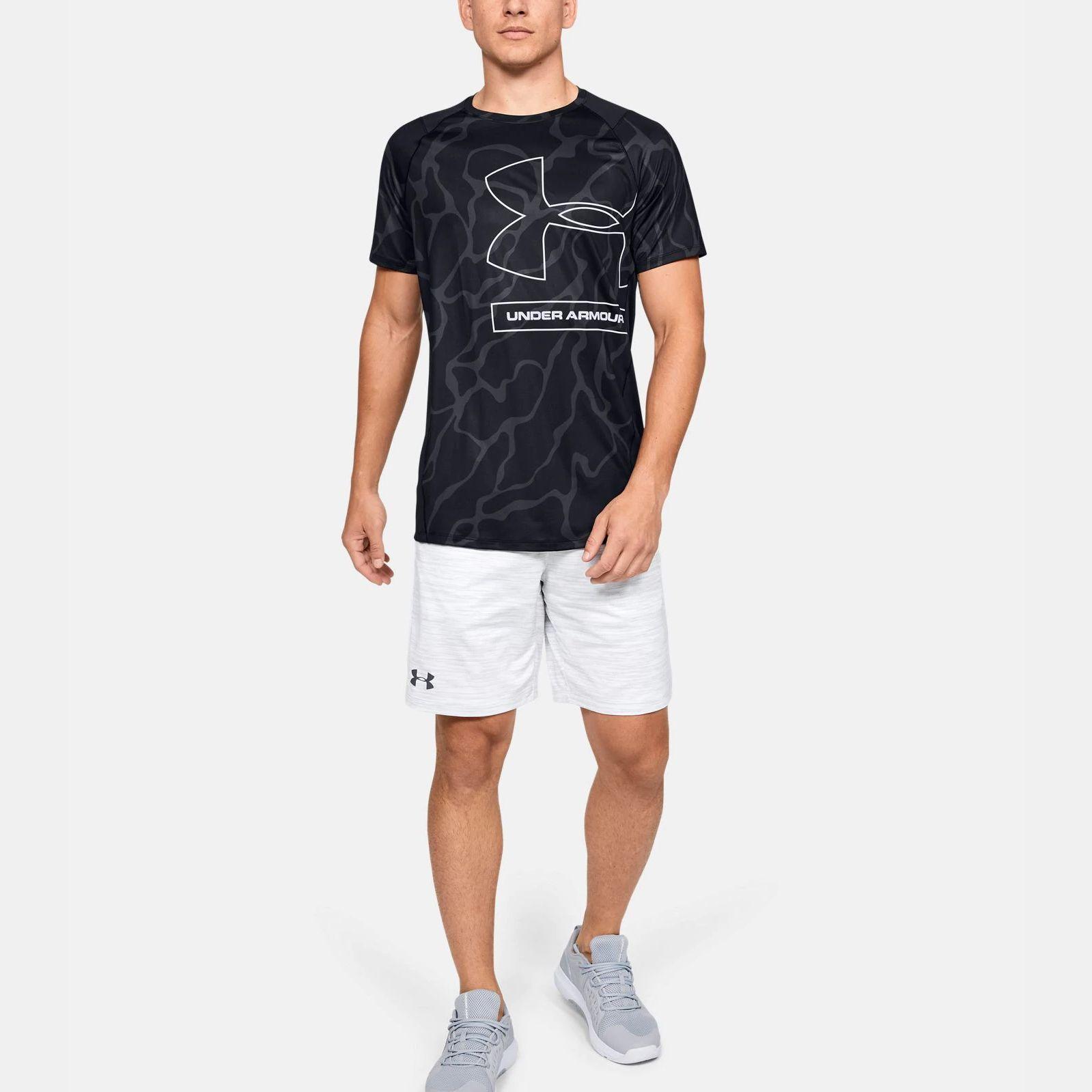 Clothing -  under armour UA MK-1 Tonal Print T-Shirt 1563