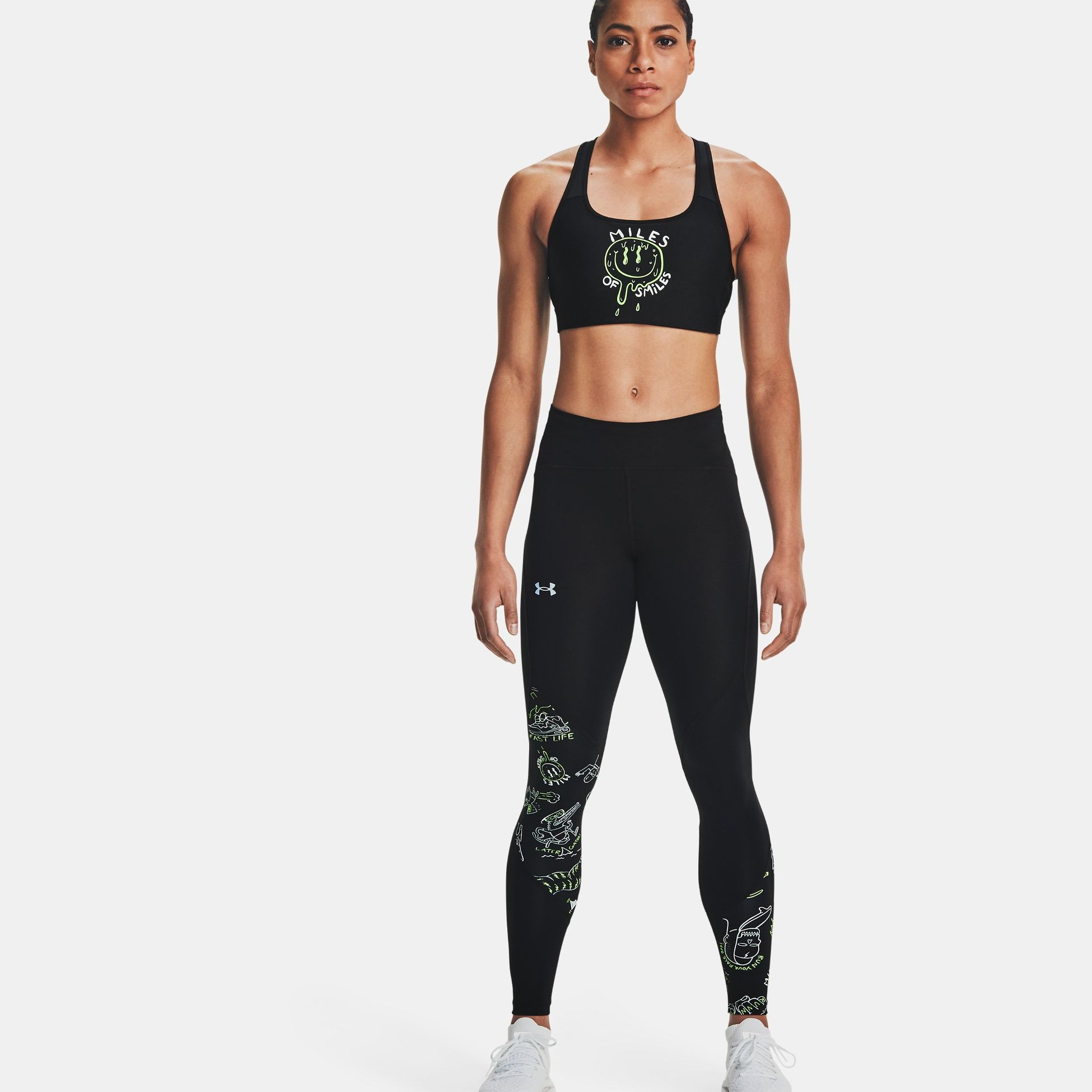 Clothing -  under armour Run Your Face Off Tights