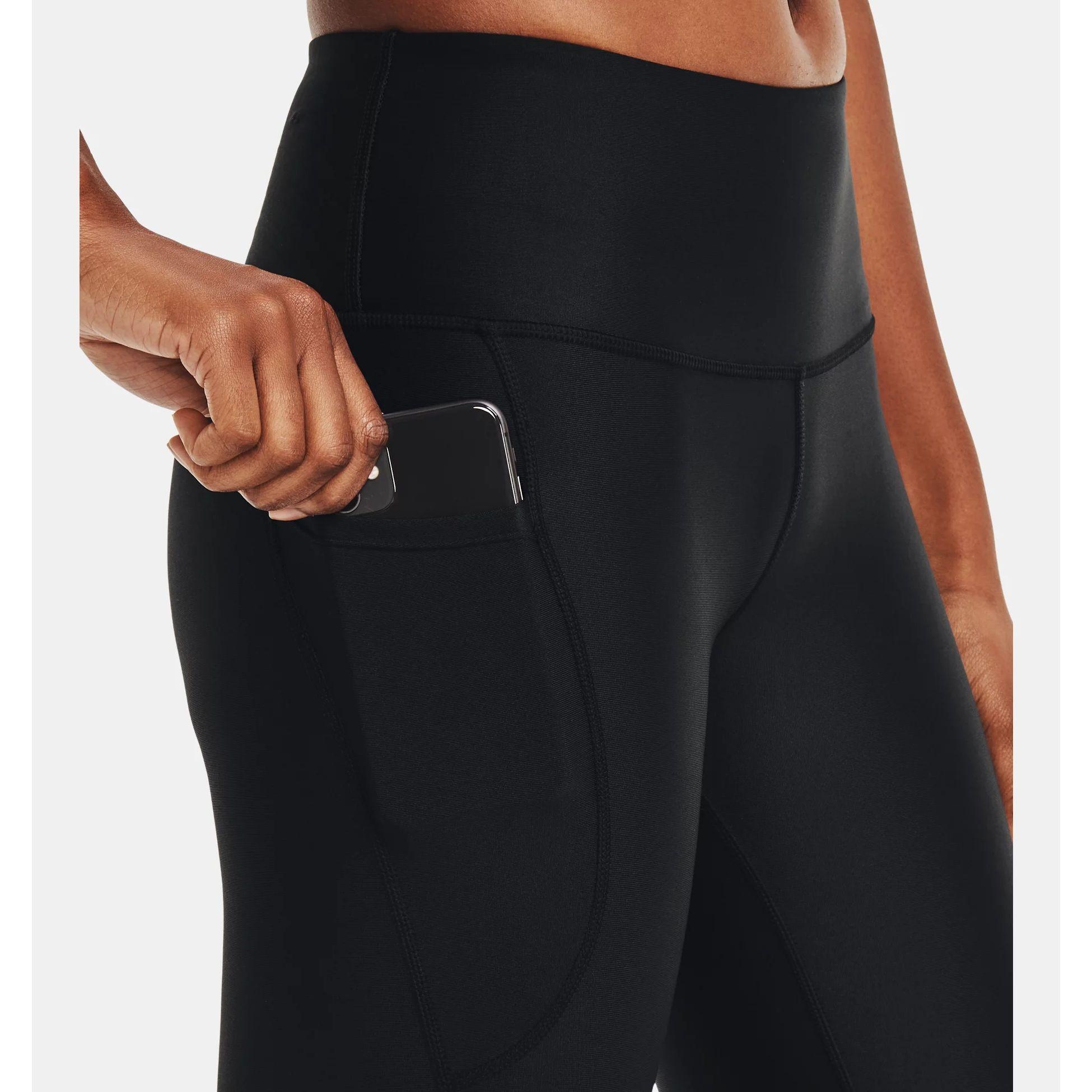 Clothing -  under armour HeatGear Armour No-Slip Waistband Shine Full-Length Leggings