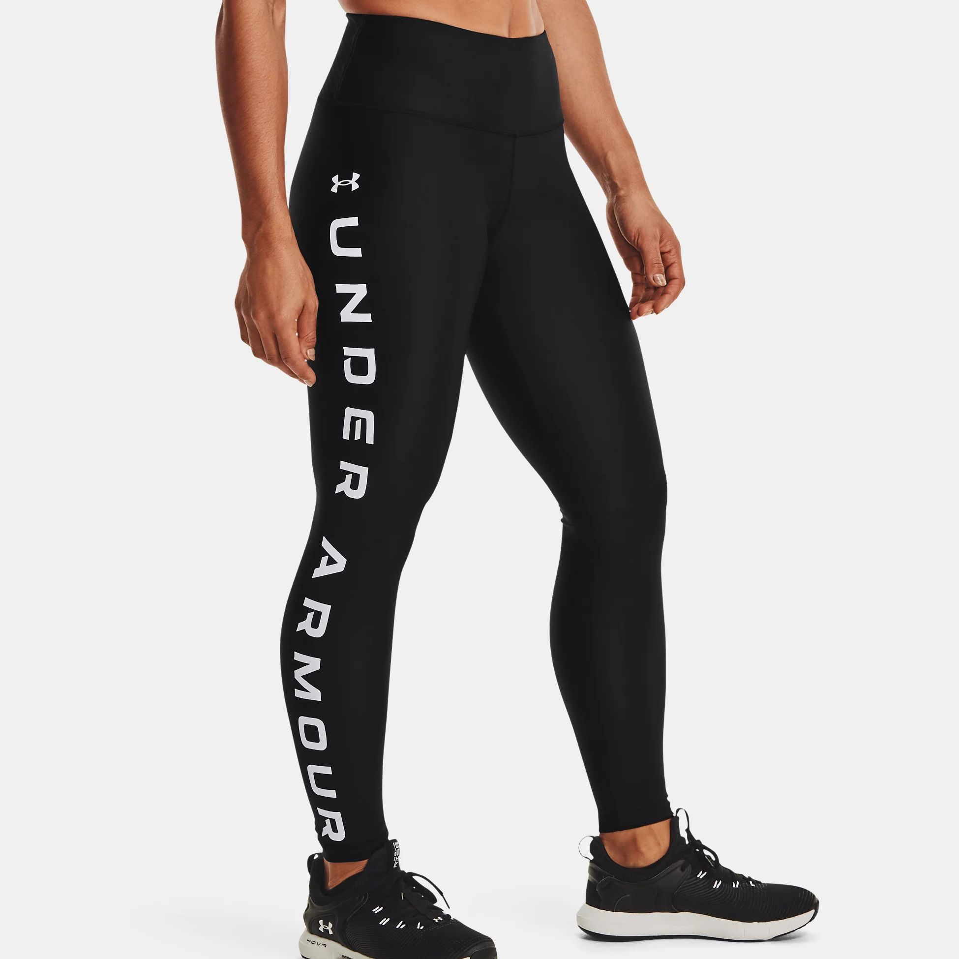 Clothing -  under armour HG Armour No-Slip Waistband Branded Leggings 1046