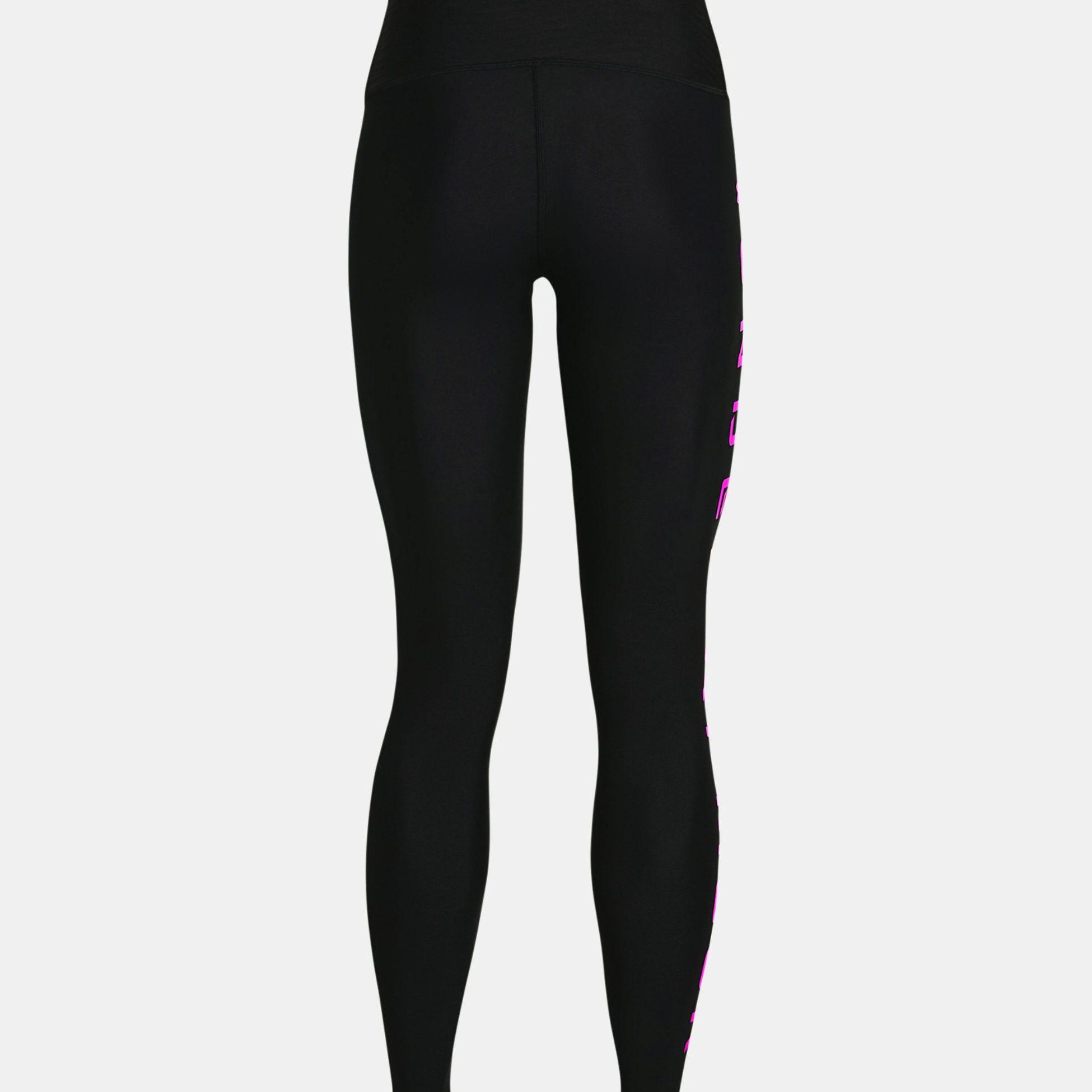 Clothing -  under armour HG Armour No-Slip Waistband Branded Leggings 1046
