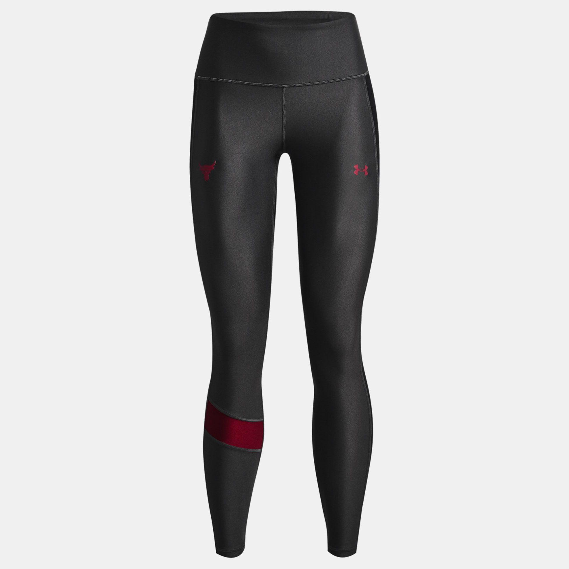 Clothing -  under armour Project Rock HeatGear No-Slip Waistband Leggings