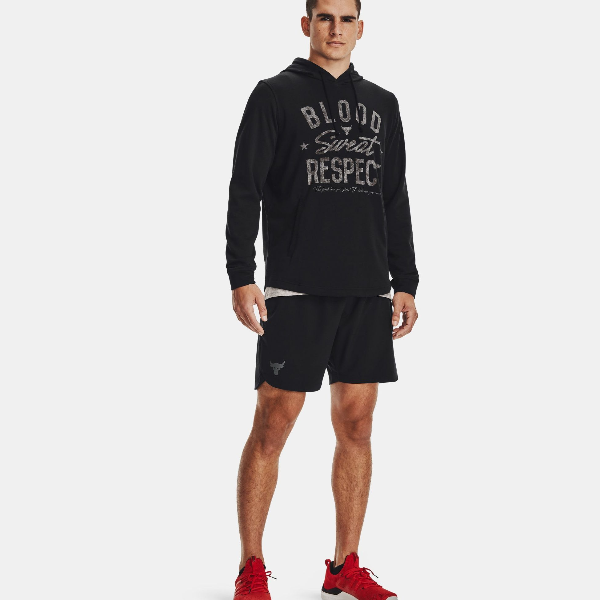 Clothing -  under armour Project Rock Terry BSR Hoodie