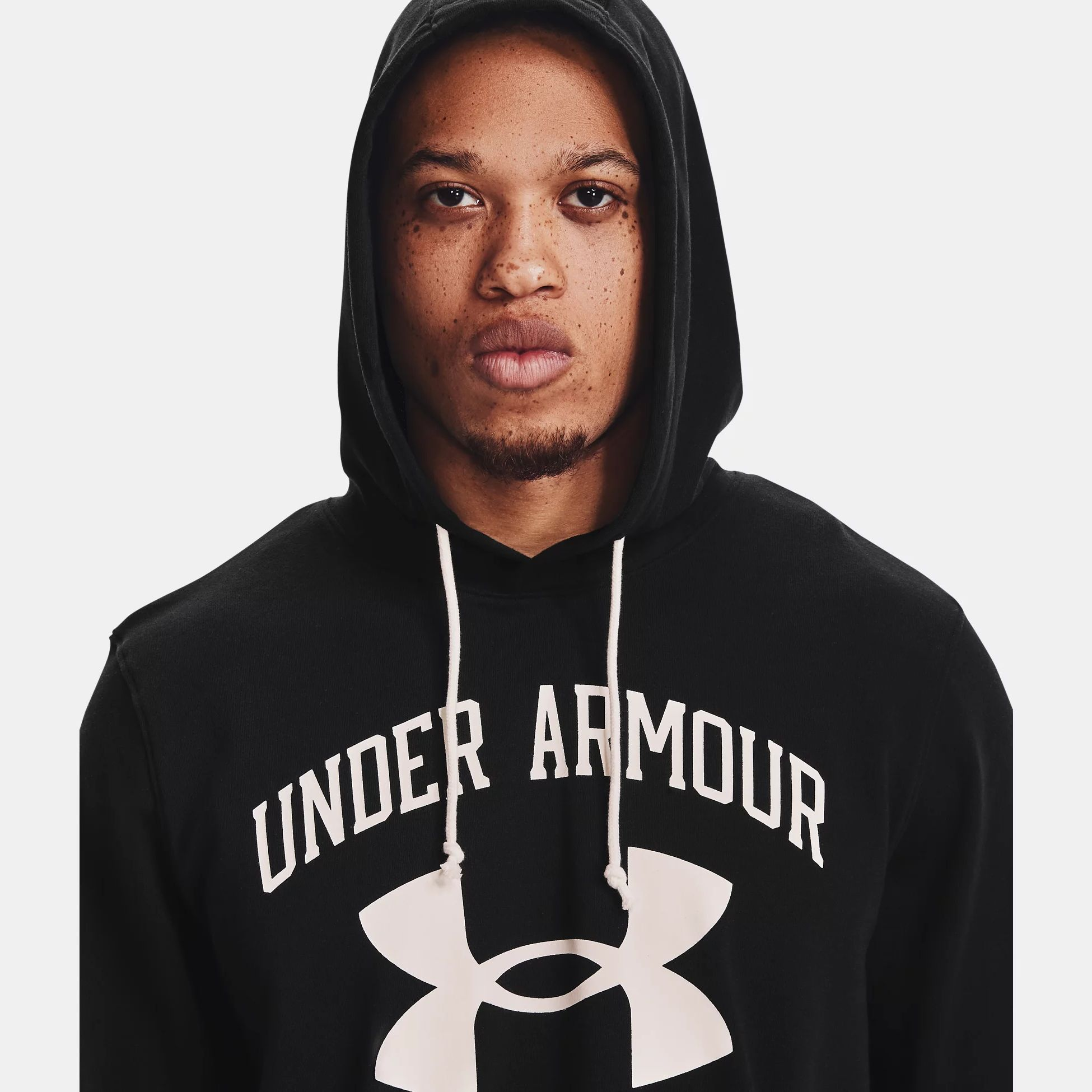 Clothing -  under armour Rival Terry Big Logo Hoodie 1559