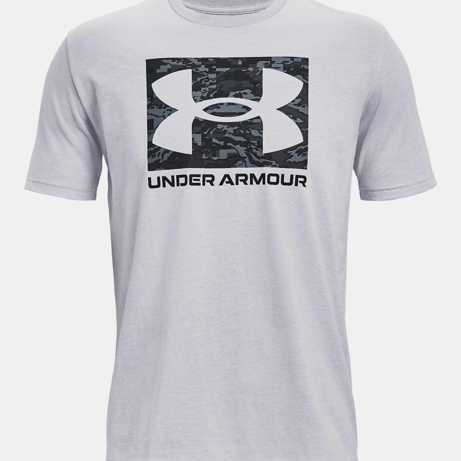 Clothing -  under armour UA ABC Camo Boxed Logo SS 1673