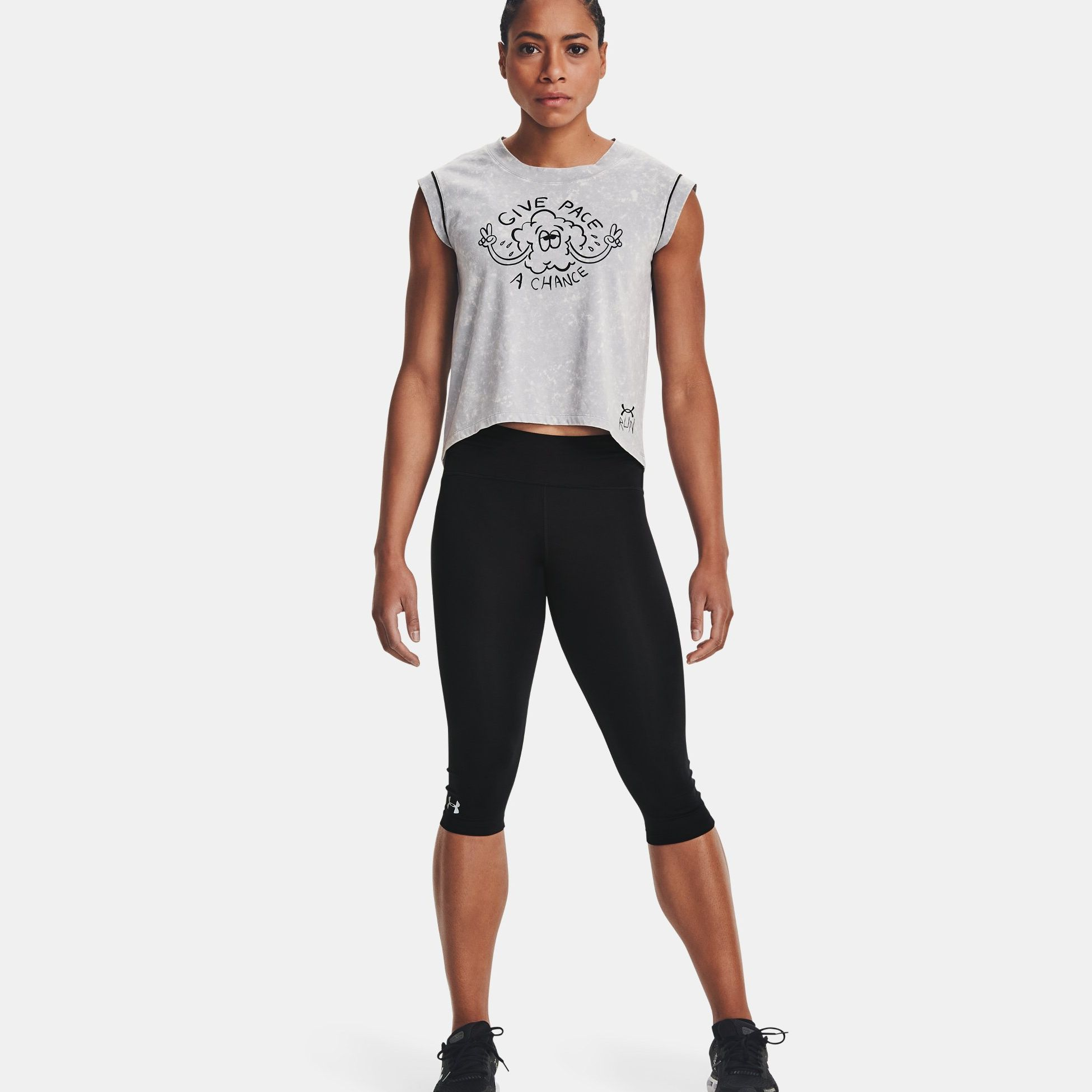 Clothing -  under armour UA Give Pace A Chance 1377