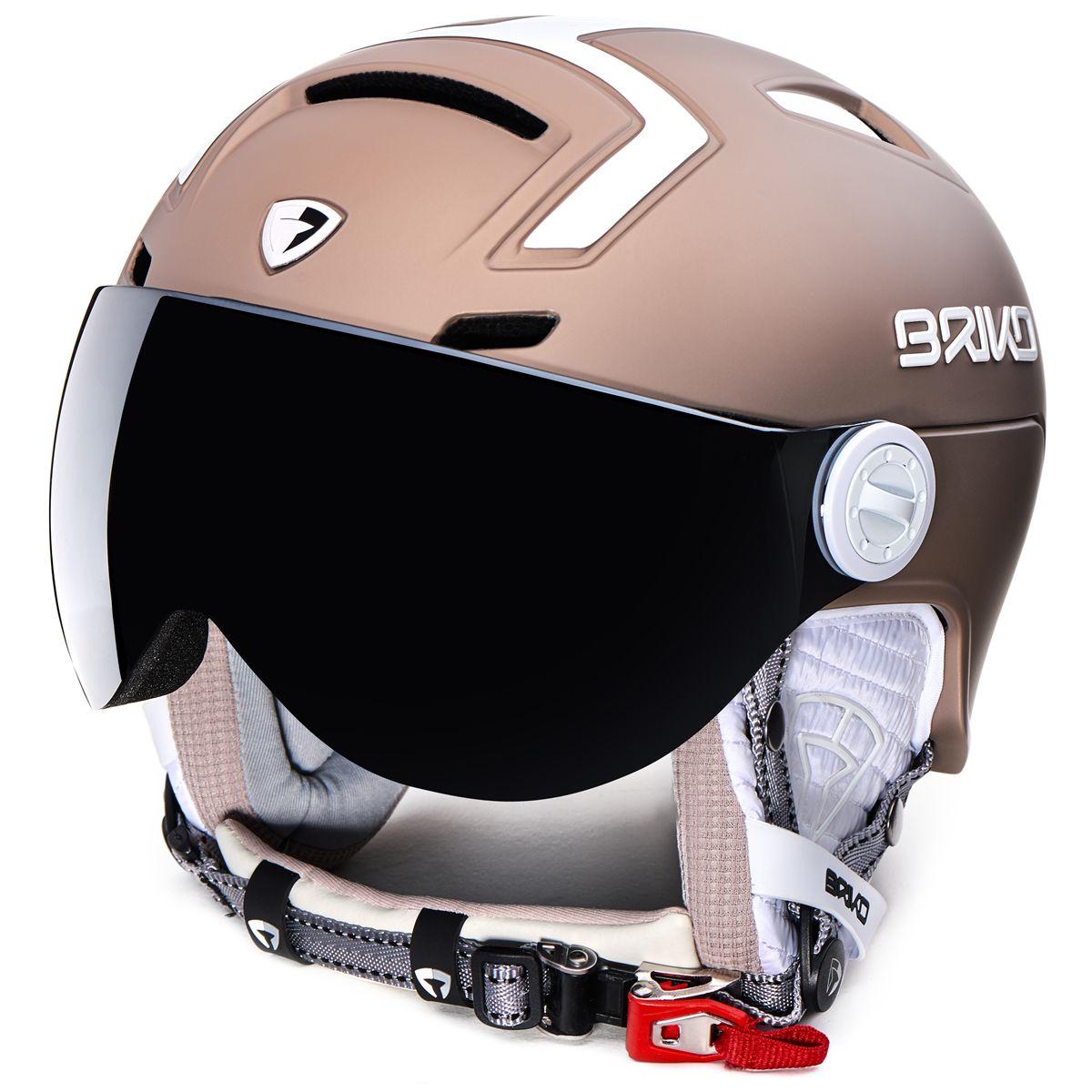 ecf180c517a5 Ski   Snow Helmet - briko Stromboli Visor 1V