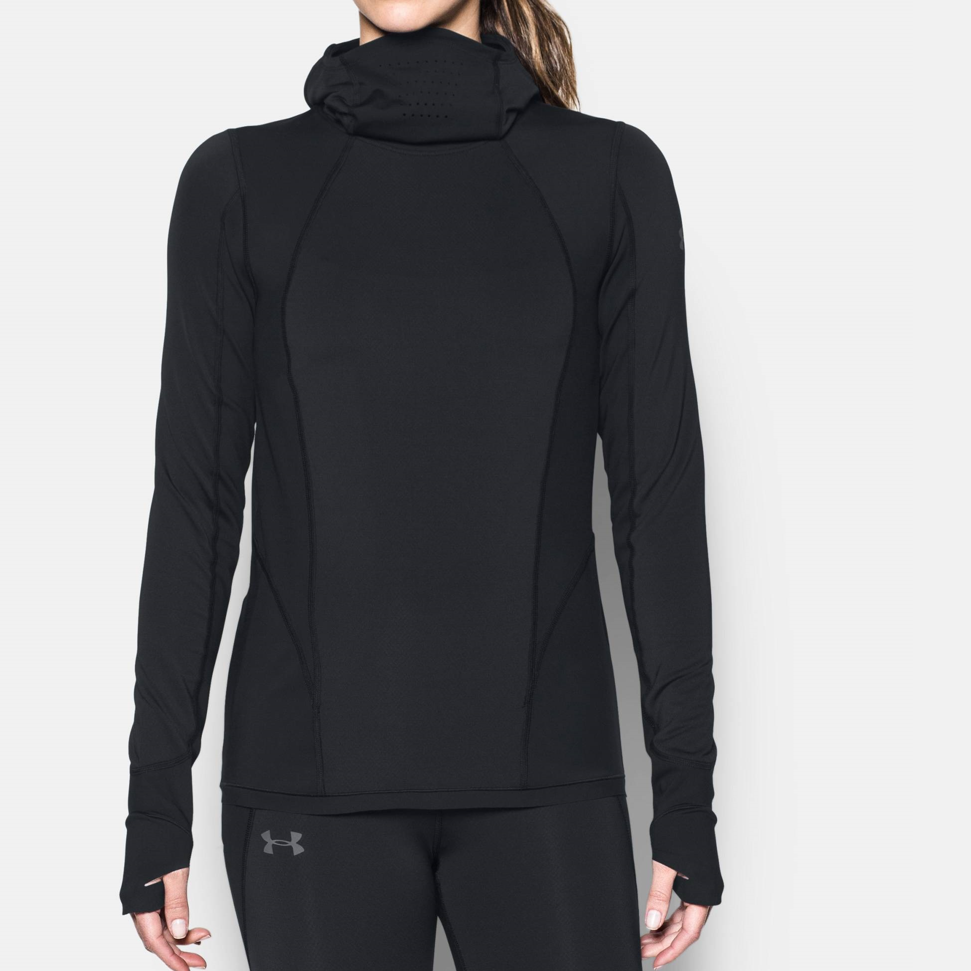 Funktions-Sweatshirt Running Under Armour Black