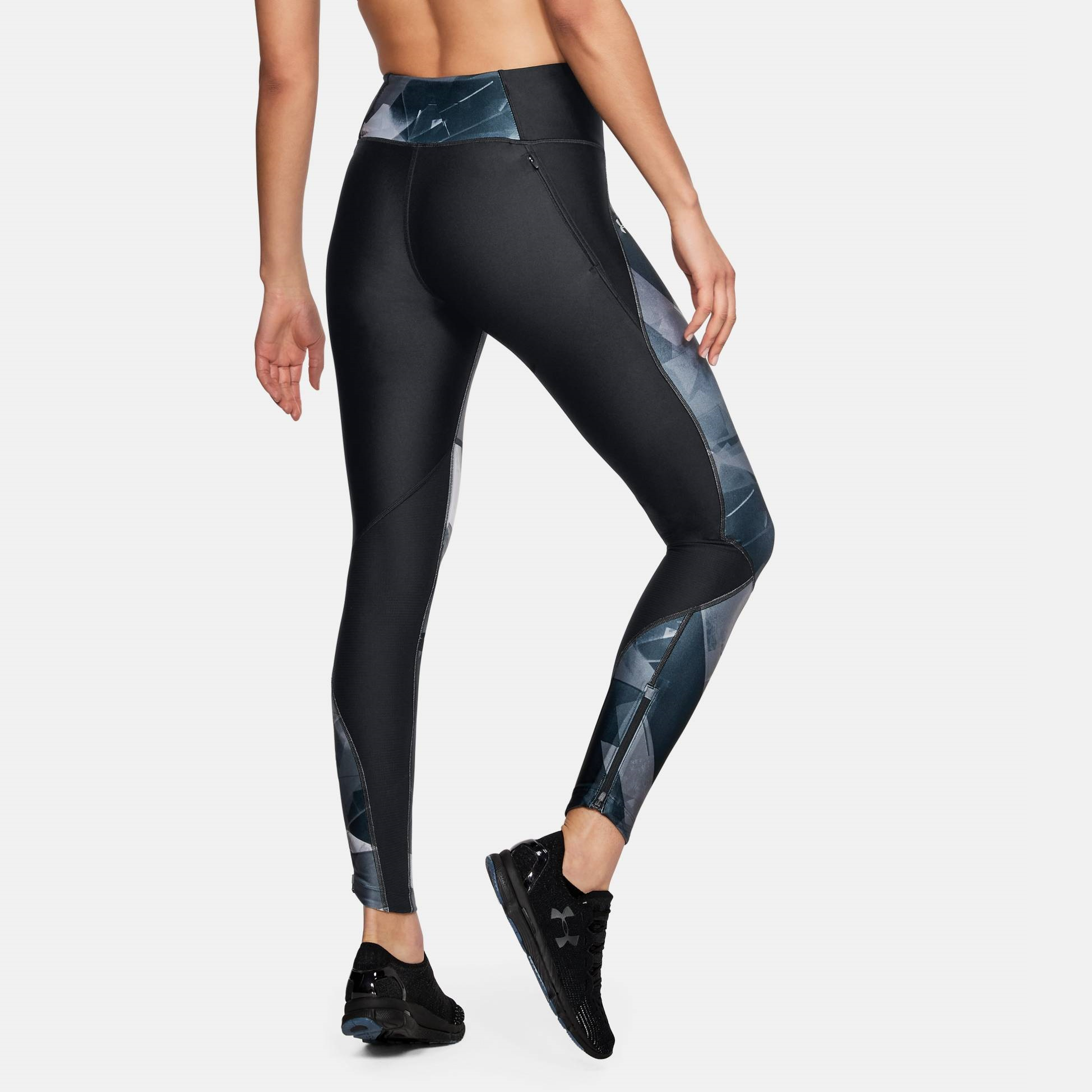 Under Armour UA Women/'s Fly Fast Printed Gym Leggings New