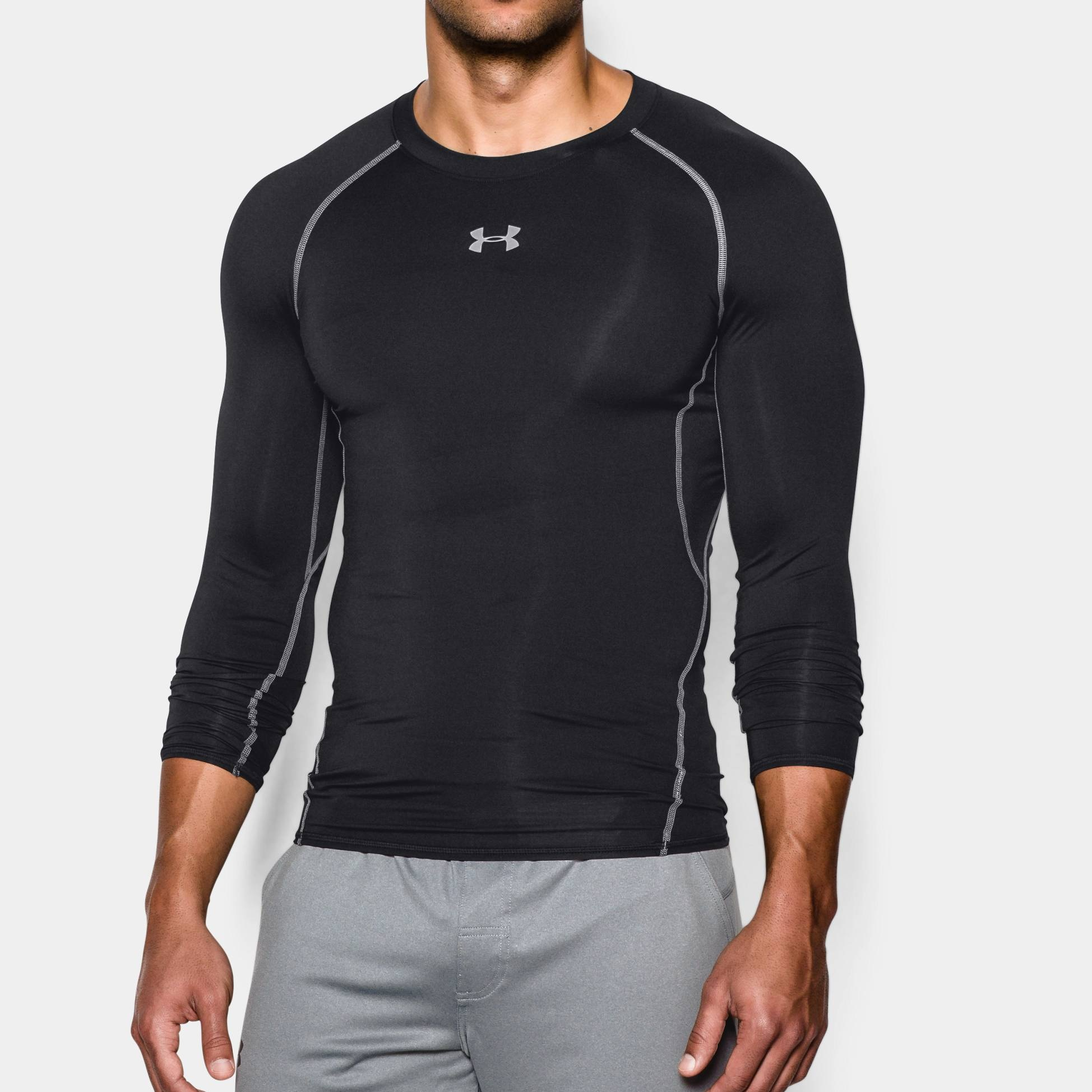 Clothing under armour long sleeve compr shirt fitness for Under armour i will shirt