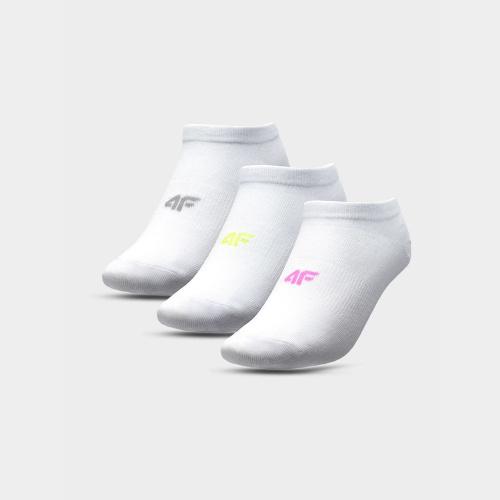 Accessories - 4f Șosete pentru fete (3 perechi) JSOD002 | Fitness