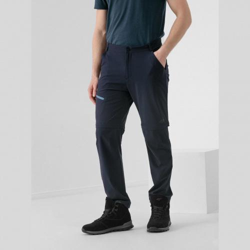Clothing - 4f Pantaloni de trekking 2în1 pentru bărbați SPMTR061 | Outdoor