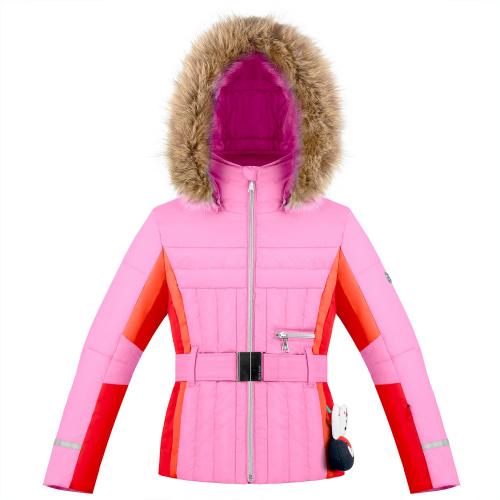 Ski & Snow Jackets - Poivre Blanc Belted Graphic Ski Jacket 274015 | Snowwear