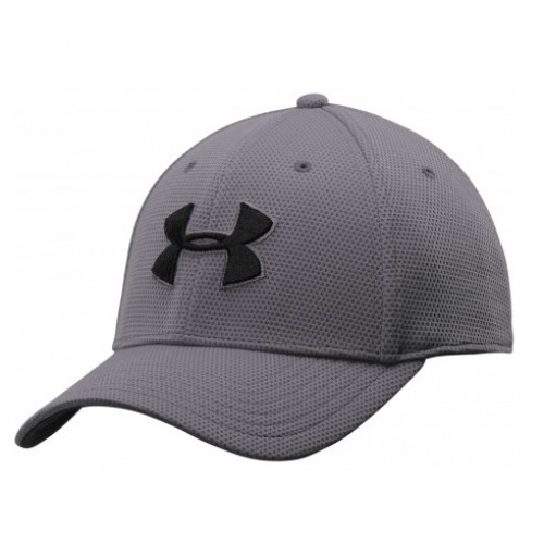 Accessories - Under Armour Blitzing II Stretch Fit Cap 4123 | Fitness
