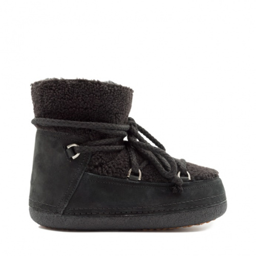 Shoes - Inuikii Boot Curly Black   Sportstyle