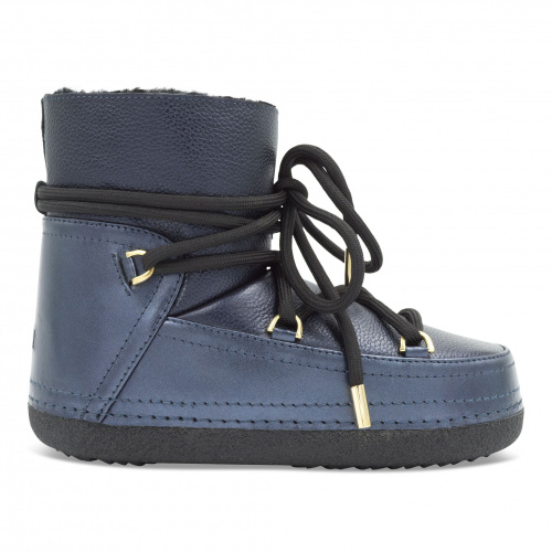 Shoes - Inuikii Boot Leather Night Blue   Sportstyle