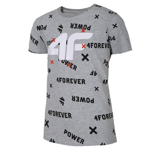 Clothing - 4f Boy T-Shirt JTSM001A | Fitness