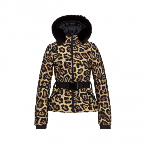 Ski & Snow Jackets - Goldbergh FIERCE Jacket real fox fur | Snowwear