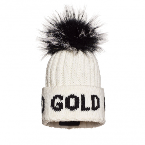Hats - Goldbergh HODD Beanie real raccoon fur | Snowwear