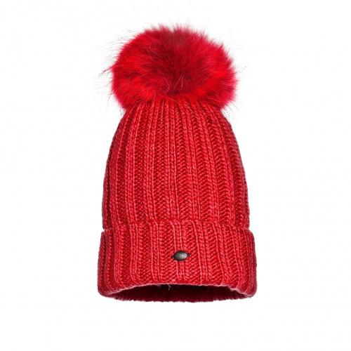 Hats - Goldbergh UNA Beanie real raccoon fur | Snowwear
