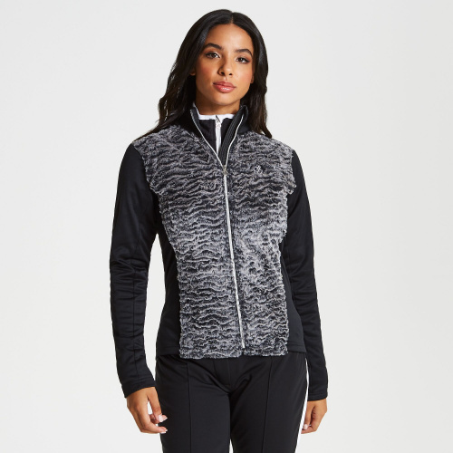 2nd Layer - Dare2b Impearl Full Zip Faux Fur Luxe Stretch Midlayer | Snowwear