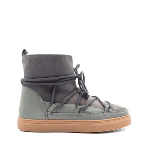 Shoes - Inuikii MEN Sneaker Classic Dark Grey   Sportstyle