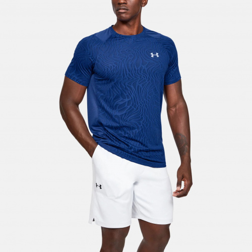 Clothing - Under Armour MK-1 Jacquard Short Sleeve 1562 | Fitness