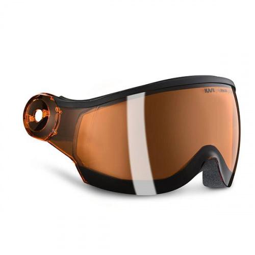Snowboard Visor Helmet - Kask Orange visor - S2 | Snowboard