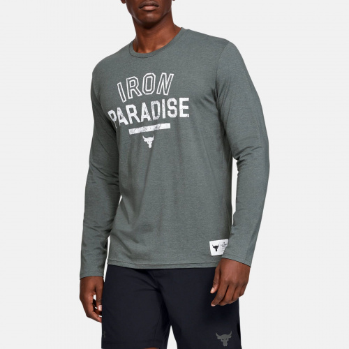 Clothing - Under Armour Project Rock Iron Paradise Long Sleeve 6101 | Fitness