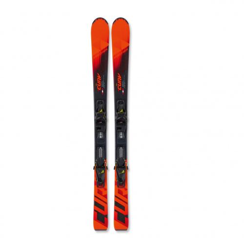 Ski - Fischer RC4 The Curv Jr. SLR PRO + FJ4 GW | Ski