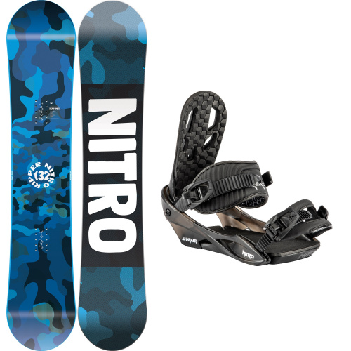 Snowboard Package - Nitro RIPPER YOUTH + CHARGER | Snowboard
