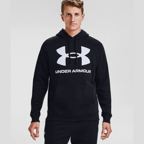 Clothing - Under Armour Rival Fleece Big Logo Hoodie 7093 | Fitness