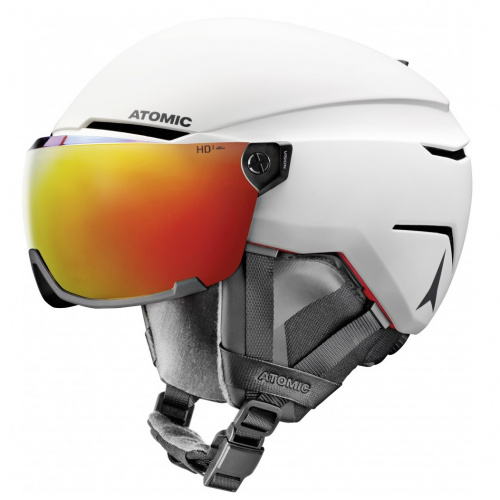 Ski & Snow Helmet - Atomic Savor AMID Visor HD | Snow-gear
