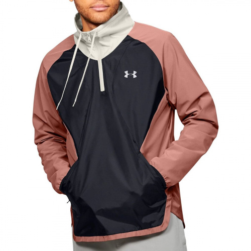 Clothing - Under Armour Stretch Woven half Zip Jacket 2681 | Fitness