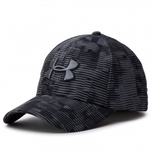 Accessories - Under Armour UA Printed Blitzing 3.0 Stretch Fit Cap 5038 | Fitness
