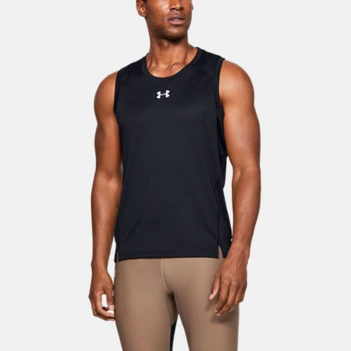 Clothing - Under Armour UA Qualifier HexDelta Singlet 6586 | Fitness