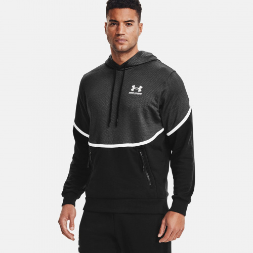 Clothing - Under Armour UA Rival Fleece AMP Hoodie 7090 | Fitness