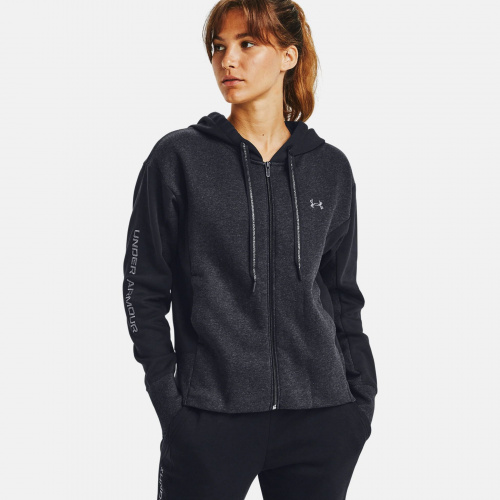Clothing - Under Armour UA Rival Fleece Embroidered Full Zip Hoodie 2419 | Fitness