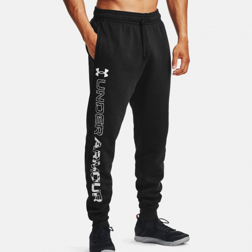 Clothing - Under Armour UA Rival Fleece Graphic Joggers 7130 | Fitness