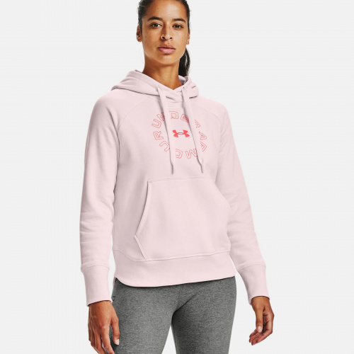 Clothing - Under Armour UA Rival Fleece Metallic Hoodie 6323 | Fitness