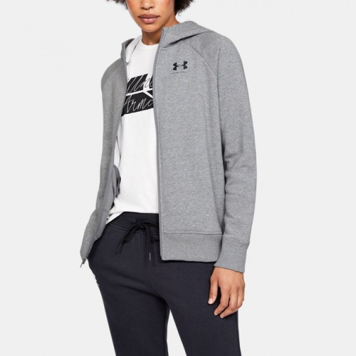 Clothing - Under Armour UA Rival Fleece Sportstyle Full Zip Hoodie 8559 | Fitness