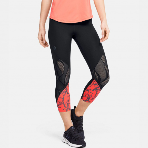 Clothing - Under Armour UA Rush Vent Iridescent Graphic Crop 1718 | Fitness