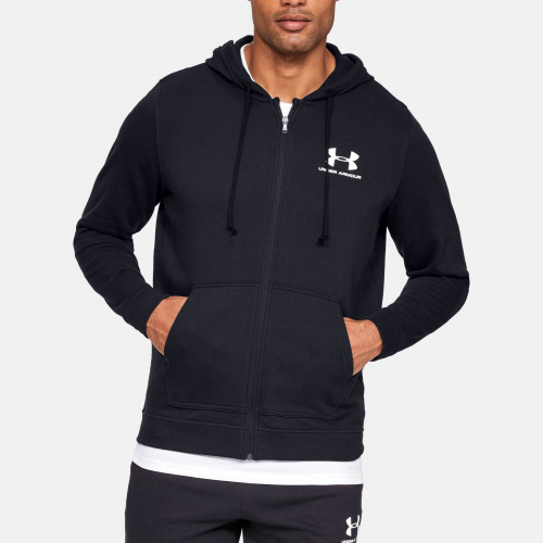 Clothing - Under Armour UA Sportstyle Terry Full Zip Hoodie 5776 | Fitness