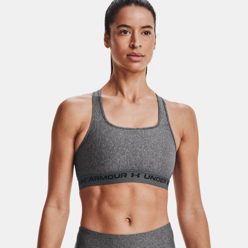 Clothing - Under Armour Armour Mid Crossback Heather | Fitness