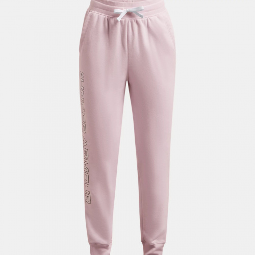 Clothing - Under Armour Girls UA Rival Fleece Joggers | Fitness