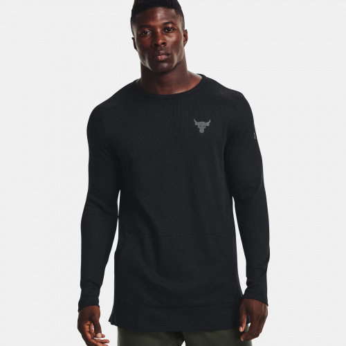Clothing - Under Armour Project Rock Authentic Crew | Fitness