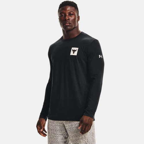 Clothing - Under Armour Project Rock Brahma Bull Long Sleeve | Fitness
