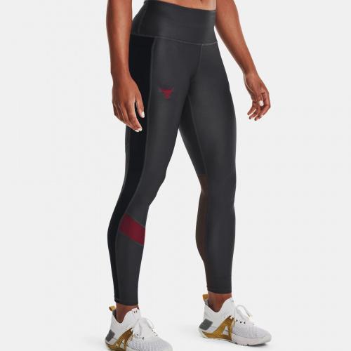 Clothing - Under Armour Project Rock HeatGear No-Slip Waistband Leggings | Fitness