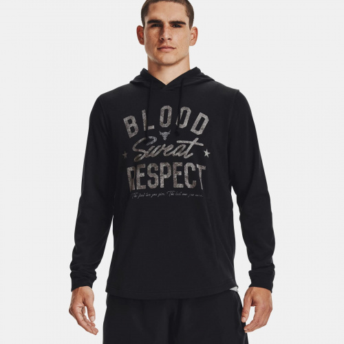 Clothing - Under Armour Project Rock Terry BSR Hoodie | Fitness