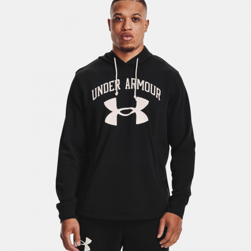 Clothing - Under Armour Rival Terry Big Logo Hoodie 1559 | Fitness